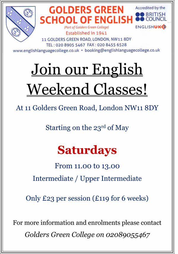 Weekend Classes