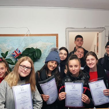 RUSSIAN GROUP DELIGHTED WITH COURSE